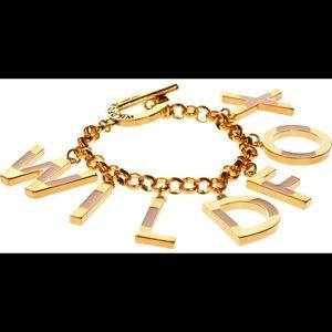 Wild fox charm bracelet